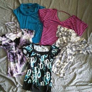 Bundle of 5 womens Small tops